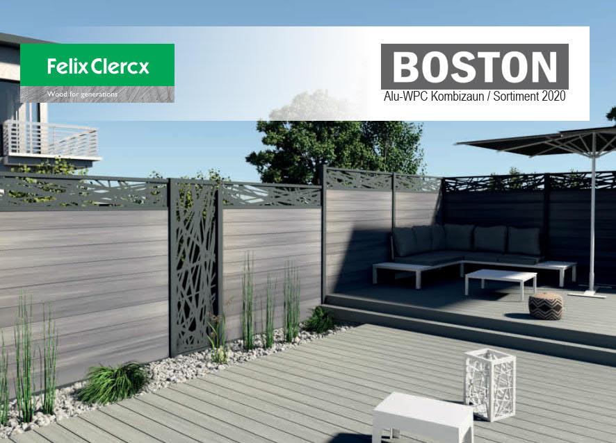 Titelbild BOSTON Katalog